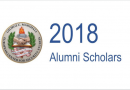 2018 Marshall Center Alumni Scholars