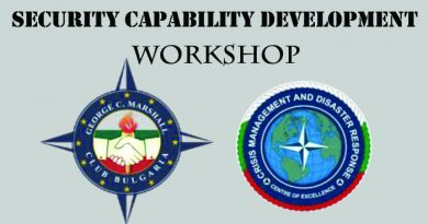 "Workshop: ""Security Capability Development"""